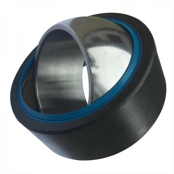Hybrid Ceramic Ball Bearings 6004 Stainless Steel Ring Nylon Cage Ceramic Ball Rubber Seals Bearings #1 image
